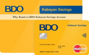 How to Open BDO Kabayan Savings Account for OFW