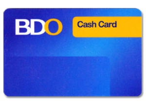 How to Apply for BDO Cash Card