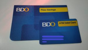 bdo savings