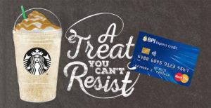 BPI Credit Card Promo 2017: P150 Starbucks eCoupon