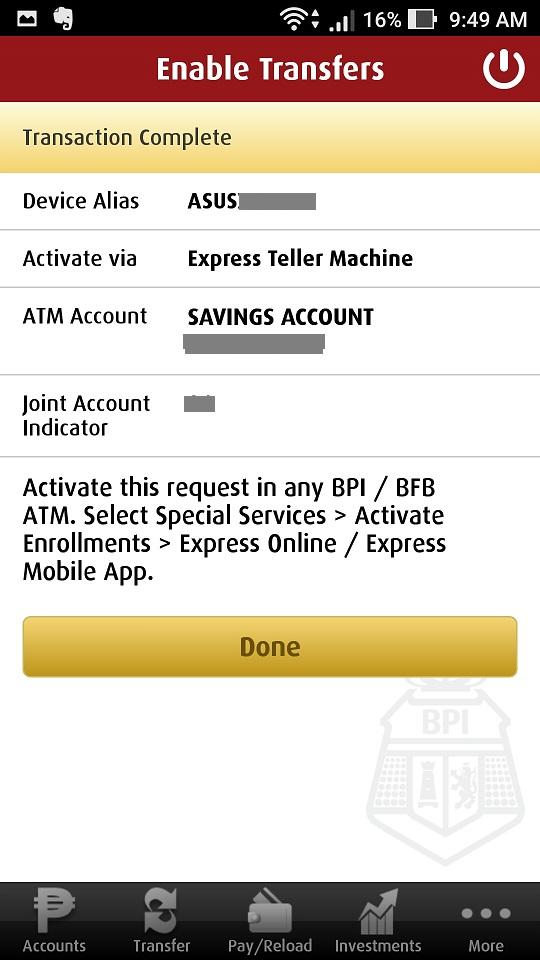 Bpi express online forex