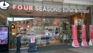 My Free Birthday Lunch at Four Seasons Buffet Cubao