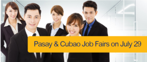 BDO Job Fairs in Pasay and Cubao – July 29