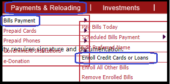 Where can i pay my bpi credit card bill