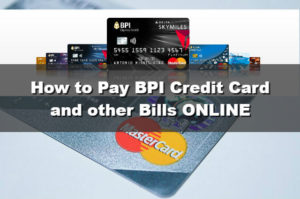 How to Pay BPI Credit Card and other Bills through BPI Express Online