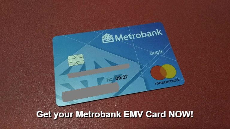metrobank savings account - Prepaid Debit Cards With Emv Chip