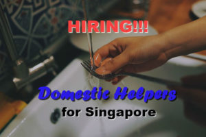 Domestic Helpers or Workers Hiring in Singapore
