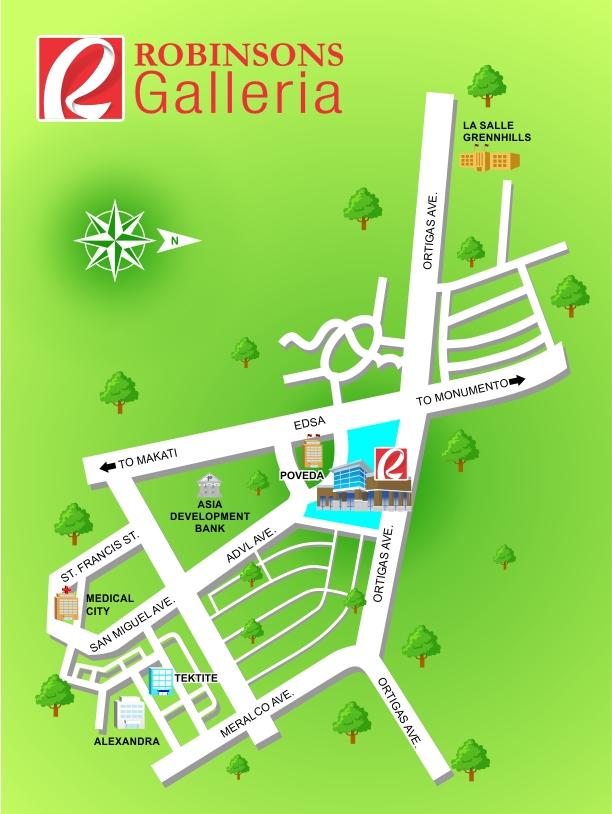 robinsons-galleria-map-location