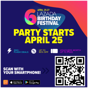 How to Avail of Lazada Voucher Codes at the Lazada Birthday Sale on April 25 to 27