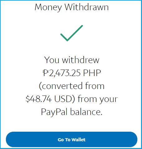 how to receive money from paypal account