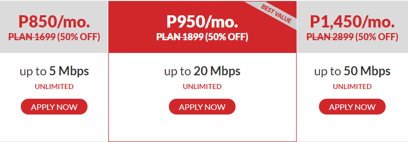 What Are The PLDT Home Fibr Speed Plans?