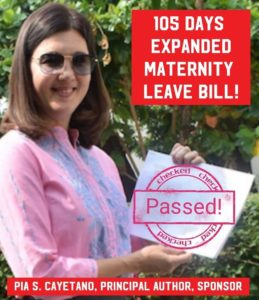 What's NEW with the Expanded Maternity Leave Bill