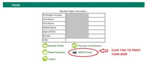 How to Get PhilHealth MDR Online (Member Data Record)